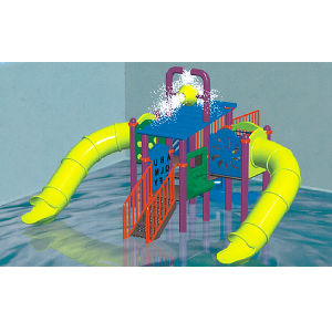 2017 Hot Sell Outdoor Water Park Fiber Glass Water Slide (JS5024) pictures & photos