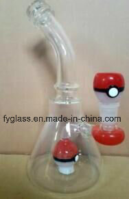 Amazing Glass Water Pipe Smoking Pipe with Pokemon Perc pictures & photos