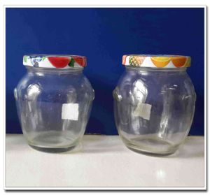 300ml Glass Jar with Metal pictures & photos