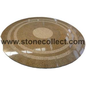 Granite Medallion / Pattern / Mosaic (Tiger Skin Yellow) pictures & photos