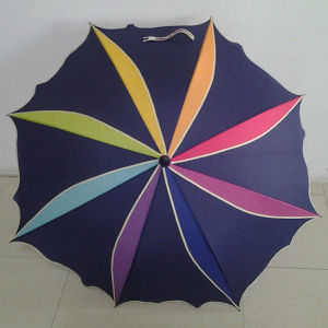 New Design Colorful Special Shape Windmill Pattern Art Umbrella (YSN27)