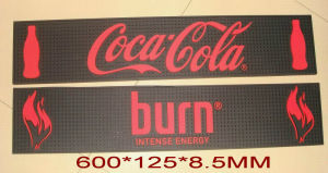 Promotional Customized 3D Embossing Bar Mat pictures & photos