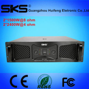High-Power 2 Channels Professional Power Amplifier