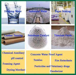 Indstrial Grade Aluminium Sulfate for Water Treatment pictures & photos
