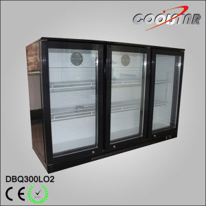 Hot Sale Three Door Back Bar Beverage Cooler pictures & photos