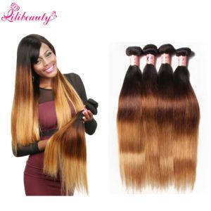 Brazilian Virgin Human Hair 3t Straight Hair Bundles pictures & photos