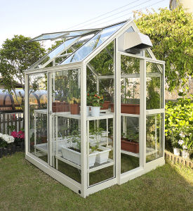 Garden Glass Greenhouse Material Low Cost Greenhouse pictures & photos