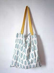 Canvas Women Shopping Travel Handbag; pictures & photos