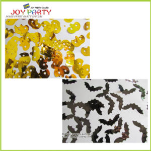 Bat and Pumpkin Foil Confetti for Halloween Party pictures & photos