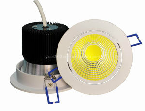 New Bridgelux 10W LED COB Down Light 600lm Dia110*H85mm pictures & photos