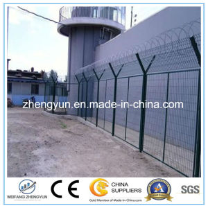 High Security PVC Coated 358 Airport Security Wire Mesh Fence pictures & photos