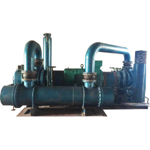 Three-Lobe Roots Positive Displacement Blower Aertor