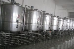 Milk Tank Yogurt Tank with Cooling Jacket Insulation Agitator 1000L pictures & photos