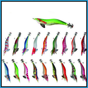 Attractive and Vivid Squid Jig in Multi-Color pictures & photos