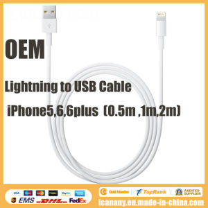 OEM Lightning to USB Cable for Apple iPhone6/ iPhone5 pictures & photos