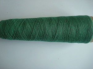 Fiber Dyed Ramie Cotton Blenched Yarn -Nm30s/2 pictures & photos