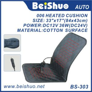 Popular Line Seam Heated Car Seat Cushion pictures & photos