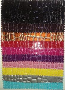 PVC Bags Sofa Decoration Leather (HS-PVC18) pictures & photos
