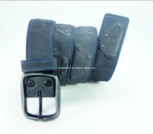 Newly-Designed Men Belt of Top Grain Leather (EUBL0281-38) pictures & photos