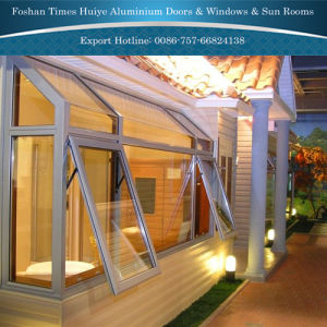 Aluminium Awning Window with Heat and Sound Proof pictures & photos