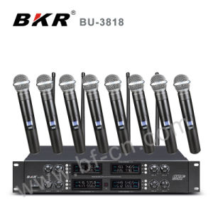 Eight Channel Wireless Microphone System Bu-3818 pictures & photos