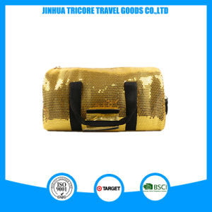 Wholesale Shiny Decoration and PU Material Weekend Travel Bag pictures & photos