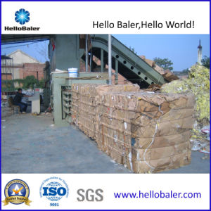 Semi-Auto Horizontal Plastic Baling Machine with Hydraulic Press System pictures & photos