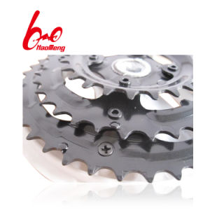 High Quality 46t Bicycle Chainwheel and Crank for Traditional Bike pictures & photos