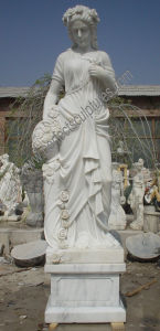 Carving Stone Marble Garden Sculpture for Home Decoration (SY-X1032) pictures & photos