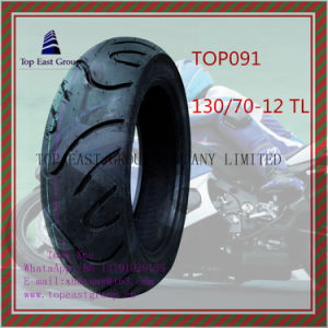 130/70-12tl Tubeless 6pr Nylon Motorcycle Tyre pictures & photos