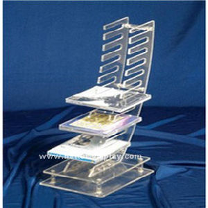 Tabletop CD Display Rack Display Stand for CD DVD Btr-C2017 pictures & photos