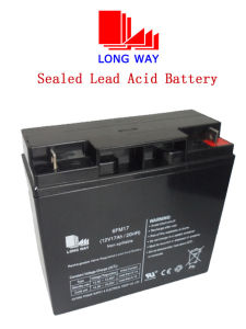 Sealed Rechargeable SLA VRLA AGM Gel Lead-Acid Battery pictures & photos