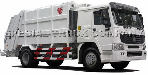 Sinotruk HOWO Rear Garbage Truck 22cbm pictures & photos