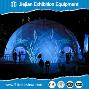 Transparent Large PVC Geodesic Dome Tent for Sale pictures & photos
