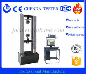 Computer Control Electronic Universal Testing Machine Wdw-10 pictures & photos