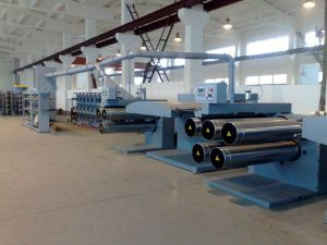 HDPE, PP Plastic Extrusion Flat Film Stretching Line pictures & photos