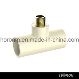CPVC D2846 Water Pipe Fitting (MALE TEE) pictures & photos