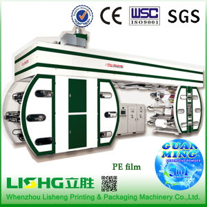 6 Colour High-Speed Ci Flexo Printing Machine for PE Bag pictures & photos