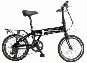Black Folding Electric Bike (TDM1202Z) pictures & photos