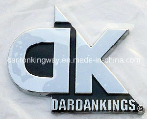 Chrome Name Plate Sticker