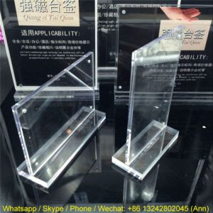 T Shape Acrylic Clear Photo Frames, Holders, Display pictures & photos