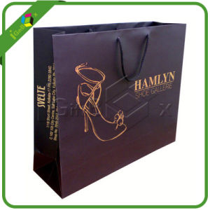 Luxury Brown Paper Bags with Handles Wholesale pictures & photos