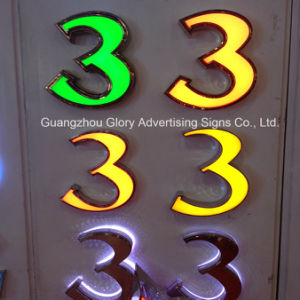 LED Illuminated Epoxy Resin Channel Letter Sign pictures & photos