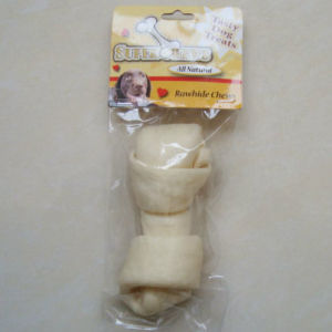 "Dog Chew of 5""-6"" White Puffy Flat Knot Bone for Dog pictures & photos"