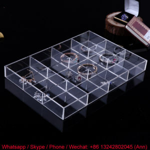 Elegant Acrylic Jewelry Packing Box for Women pictures & photos