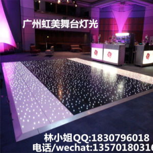 2017 Most Popular LED Twinkling Starlit Dance Floor for Wedding pictures & photos