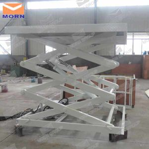 Fixed Hydraulic Goods in-Ground Scissor Lift pictures & photos