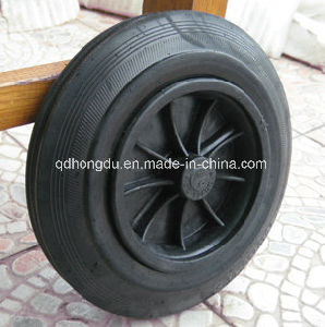 China Factory Solid Rubber Wheels pictures & photos
