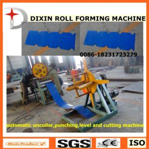 Dixin Metal Steel Sheet Cut Machine for Ridge Tile pictures & photos