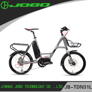 Jobo 2017 New 20′′ MID Motor Electric Bike with 9 Speed JB-TDN31L pictures & photos